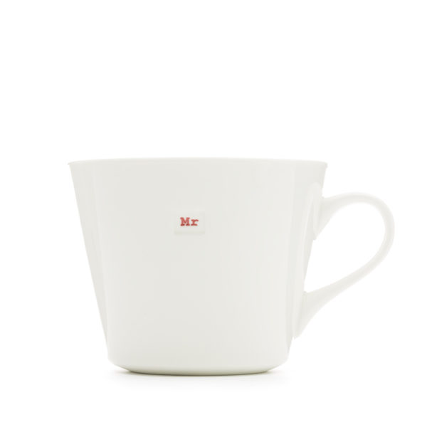 Standard Bucket Mug Pair 350Ml - Bride And Groom