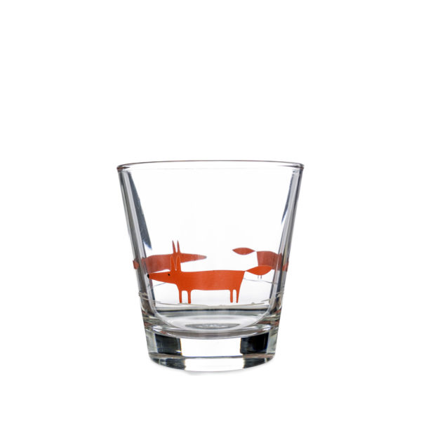 Scion Mr Fox glass tumbler
