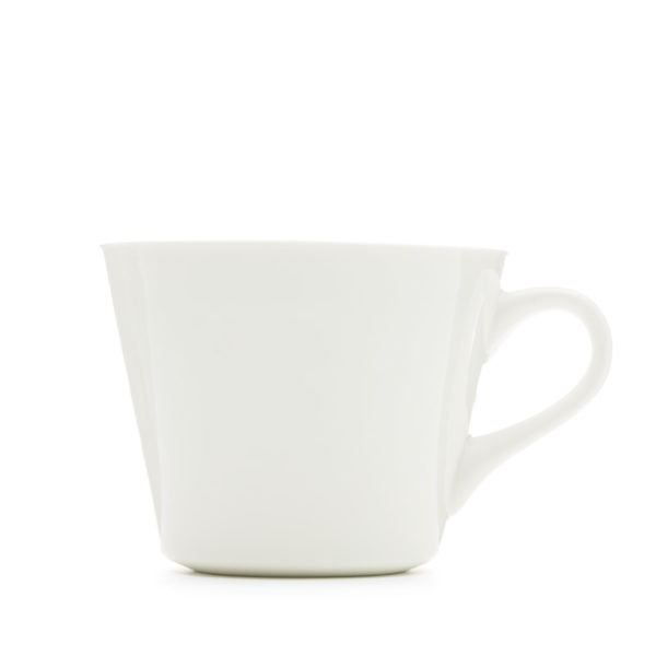 "White Bucket Mug ""better half"" 350ml"