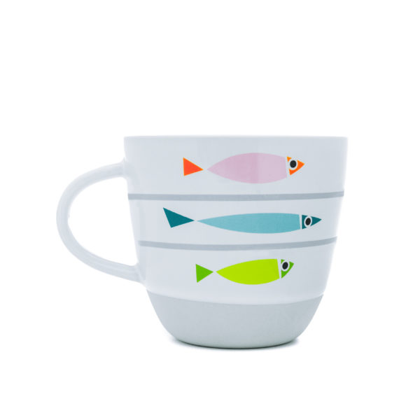 Fishy Line-Up | Nautical Mug (gift boxed)