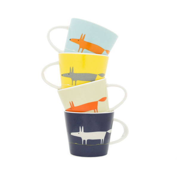 Scion Mr Fox Set of 4 Espresso Cups