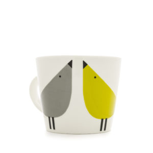 Scion Bird Mug | Lintu – duckegg, sunshine & slate