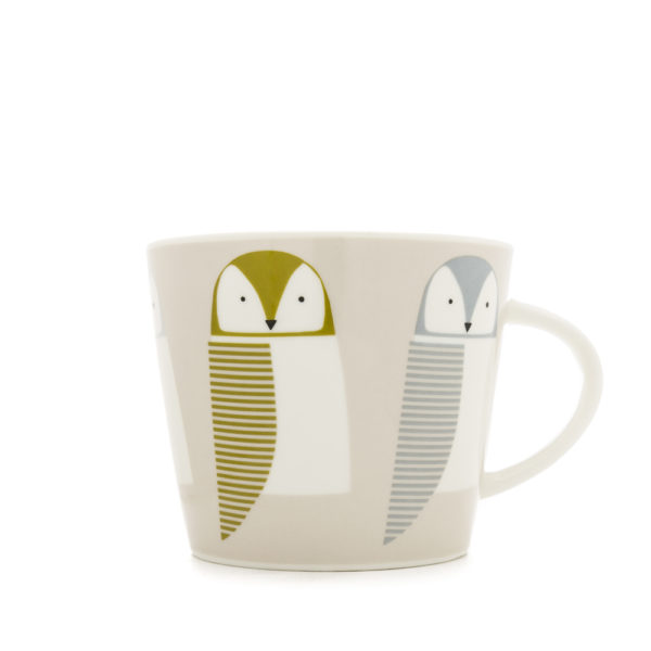 Scion Bird Mug | Barnie Owl – dandelion, pebble & hemp