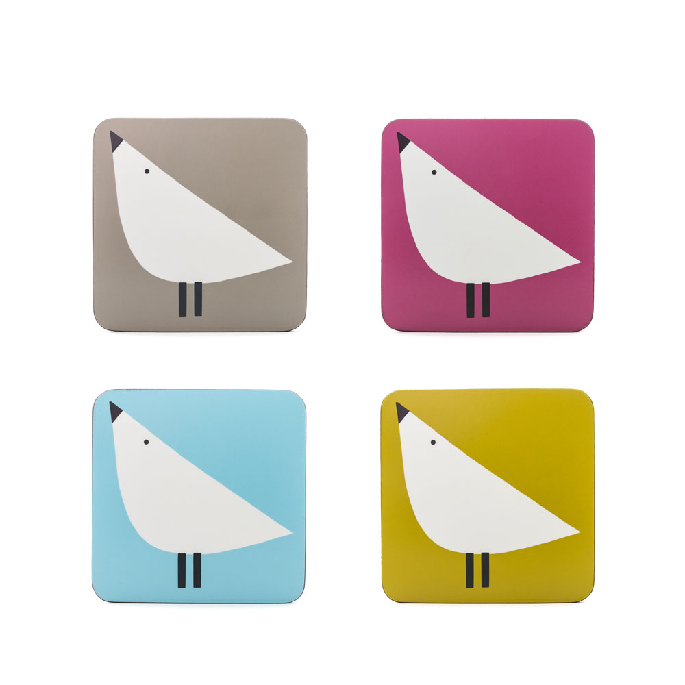Coasters set of 4 - Lintu