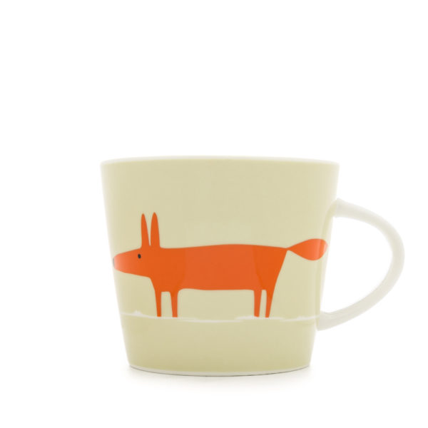 Scion Mr Fox Mug 350ml | Set of 4