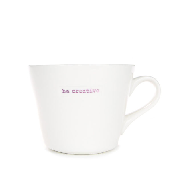 Standard Bucket Mug 350ml - be creative