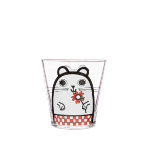 Jane Foster Illustrator Hamster Design Glass Tumbler